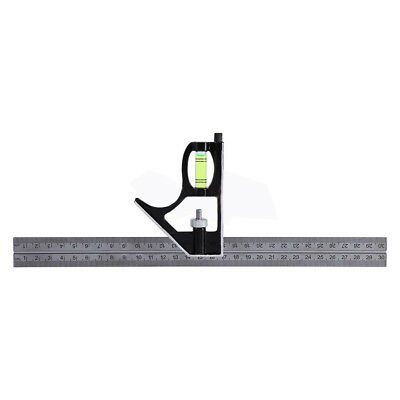 """Engineers (12"""")Adjustable Combination Try Square Set Kit 300mm Right Angle Ruler"""