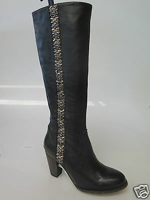 Top End - new ladies leather long boot size 37 #187 * FINAL CLEARANCE*