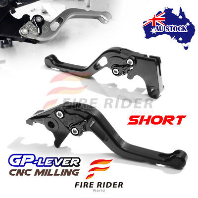 Fit Yamaha TMAX 530 SX / DX 2017 CNC SBB GP Black Short Front Rear Brake Levers