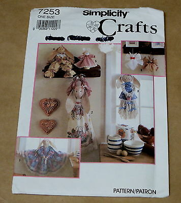 SIMPLICITY SOFT BUNNY Craft Sewing Pattern 7253 - £5.66 | PicClick UK