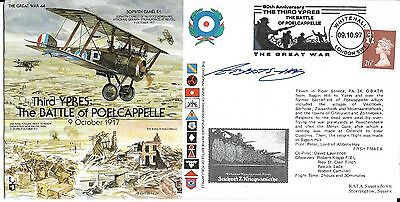 Signed Cover Commemorating Third Ypres: The Battle of Poelcappelle