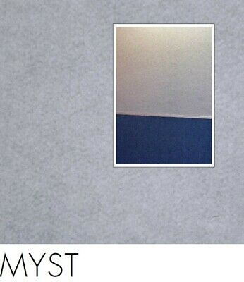 FreePost 2.16 sqm WHITE (Myst Whi02) Acoustic Fabric Peel n Stick Wall Tiles
