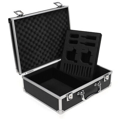 Large Aluminum Tattoo Kit Carrying Case Box Tattoo Carrying Tour Convention