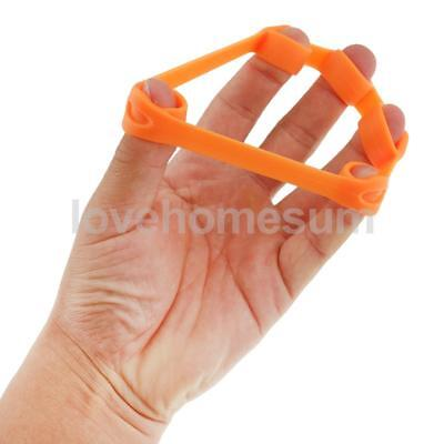 Orange Therapy Hand Exerciser Grip Strength Wrist Exercise Finger Training