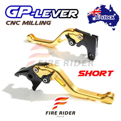 Fit Yamaha TMAX 530 XP500 15 16 CNC SGB GP Short Front Rear Brake Levers