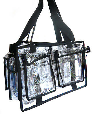 Large Clear Multi-Purpose Set Bag / Make Up Bag (RRP £65)