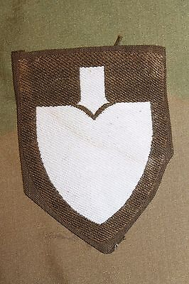 Original WW2 German RAD Service Unit Assignment Sleeve Shield, Maker Marked, Ex.