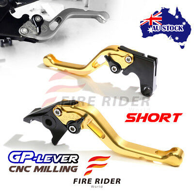 Fit Yamaha TMAX 530 SX / DX 2017 CNC SGB GP Black Short Front Rear Brake Levers