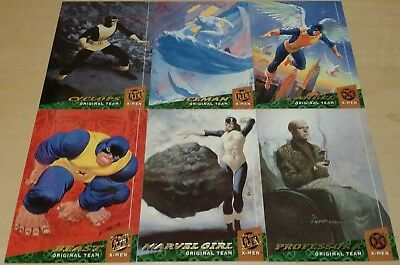 "'94 Fleer Ultra""Original Team"" X-men Collectible Trading Cards complete set"
