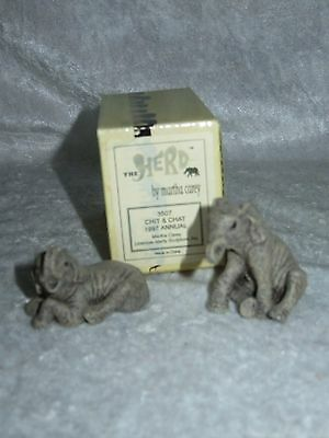 The Herd Martha Carey -  1997 Chit & Chat #3507