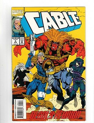 Cage / A Marvel Comics / A Hero For  Hire / Vol 1 / # 4 / August 1993 / Lot Of 2