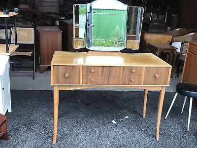 Mid Century Dressing Table By Maple & Co