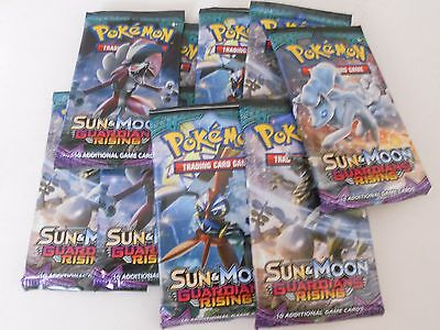 POKEMON Trading Card Game - SUN And MOON GUARDIANS RISING BOOSTER Pack CHEAPEST