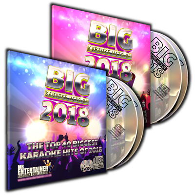 Mr Entertainer All New BIG Karaoke Chart Hits of 2017. Double CD+G/CDG Disc Set