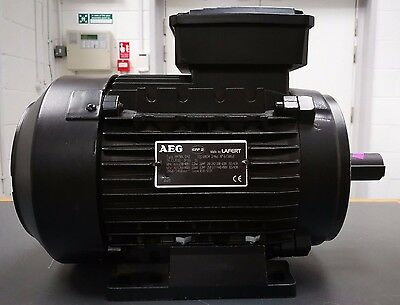 New Lafert Aeg 2.2Kw 3Ph, 400V B3 2 Pole Electric Motor