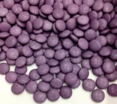Purple Chocolate Drops 1Kg Bulk Lollies Choc Candy Beanies Smarties