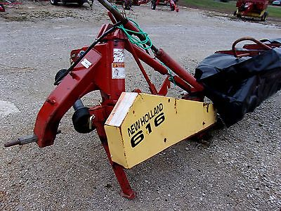 Used New Holland 616-- 8 Ft Disc Mower,  Can ship @ $1.85 per mile.