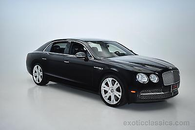 2014 Bentley Flying Spur MSRP $230,595 -- 2014 Bentley Flying Spur MSRP $230,595  18,176 Miles Black Sedan W12 6L A