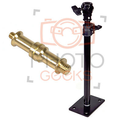 "Wall Mounted Boom Arm | Extendable 35-55cm | Reversible Spigot 1/4"" or 3/8"""