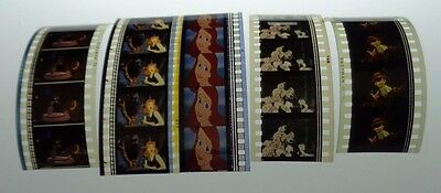 Bambi Pinnochio Lady And The Tramp 101 Dalmations Cinderella 40 Film Cells