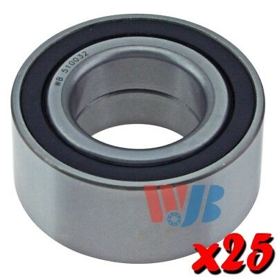 25 x New Front Wheel Bearings WJB WB510032 Cross 510032 FW169 Wholesale Lot