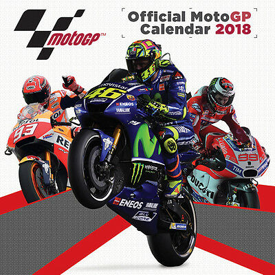 Moto GP - 30cm x 30cm Official Calendar 2018 by Pyramid International