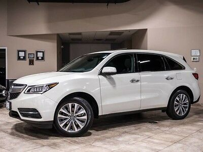 2015 Acura MDX SH-AWD Sport Utility 4-Door 2015 Acura MDX Tech Pkg SUV AWD Rearview Camera GPS Navigation Heated Seats WOW