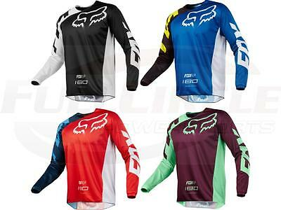 Fox Racing 180 Race Jersey Men's Motocross/MX/ATV/BMX/MTB Dirt Bike Adult 2018