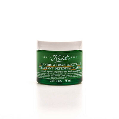 Kiehl's Cilantro & Orange Extract - Pollutant Defending Masque 2.5oz
