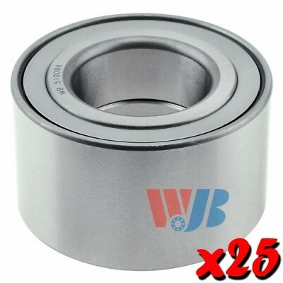 25 x New Front Wheel Bearings WJB WB510096 Cross 510096 WB000028 FW201 Wholesale