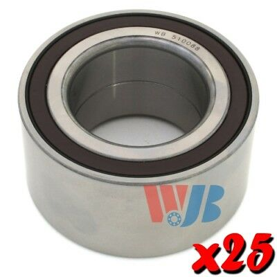 25 x New Front Wheel Bearings WJB WB510088 Cross 510088 WB000008 FW77 Wholesale