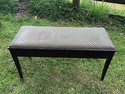 Vintage Antique Piano Stool