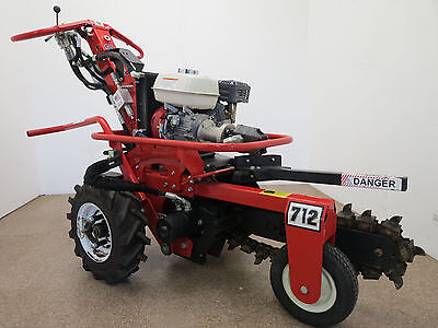 2014 Barreto 712 Micro Trencher- Only 19 Hours on it!!!