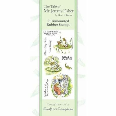 Crafters Companion Beatrix Potter Nicht Angebracht Briefmarken- Mr Jeremy Fisher