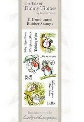 Crafters Companion Beatrix Potter Nicht Angebracht Briefmarken- Timmy