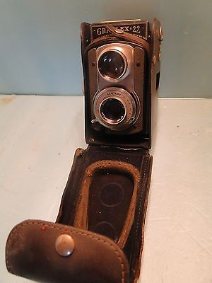 Graflex 22 With Leather Case