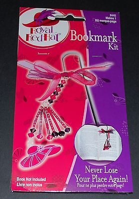 Royal Red Hat - Bookmark Complete  Kit - Makes 1 Bookmark