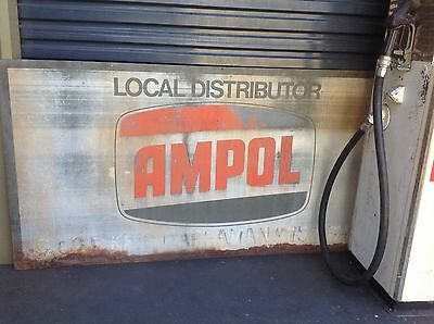 Ampol Oil Sign