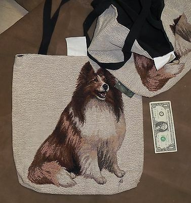 Sheltie Tapestry Tote by Linda Pickens