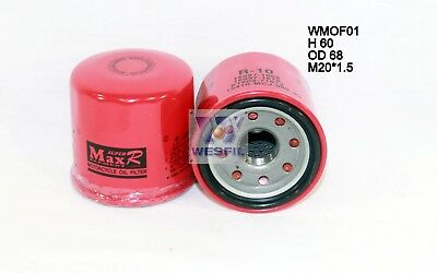 WESFIL OIL FILTER FOR Moto Moto TRIUMPH SPRINT RS ST 2000-2013 WMOF01