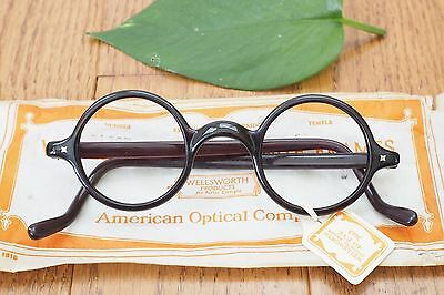 Vintage eyeglass american optical wellsworth spectacles Rare New Old Stock