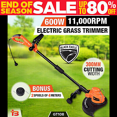 NEW Black Eagle Electric Line Trimmer Whipper Snipper Garden Tool 600W