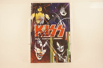 Dynamite Comics KISS #1 Signed Autographed PAUL STANLEY - GENE SIMMONS Sealed!