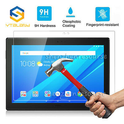 9H+ Tempered Glass Screen Protector For Lenovo Tab4 8 10 / Tab4 8plus 10plus