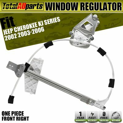 Power Window Regulator With Motor for Jeep Cherokee KJ 02-06 Front Right Driver