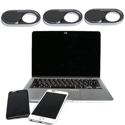 3X WebCam Shutter Cover Camera Sticker Secure Privacy Protect For Tablet iPhone