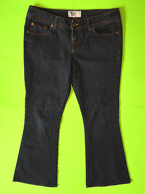 SO {Size 11 SHORT} Junior's Ultra Low Flare Jeans EXCELLENT Nearly LN!