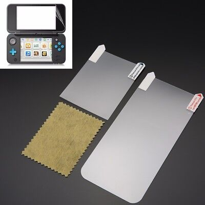 Ultra Clear Top + Button Screen Protector Film Guard For Nintendo 2DS LL XL 2017