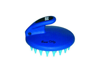 Bitz Horse Palm-Held Curry Comb Coarse - Grooming