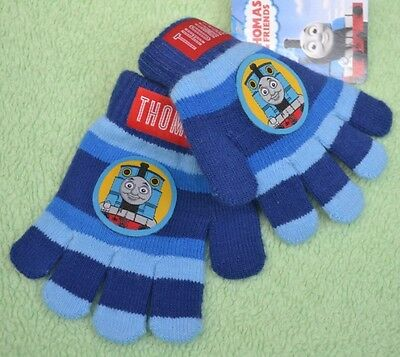 Thomas the Tank Engine Gloves Sz 3-6 BNWT mittens Thomas and friends for boy